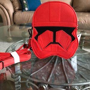 Disneys Loungefly Star Wars Sith Trooper Crossbody